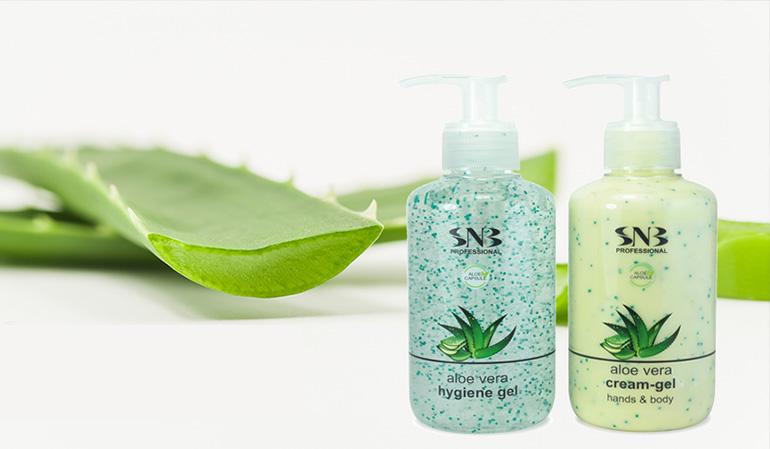 Hands and Body Cream-gel with Aloe Vera Spheres 250 ml